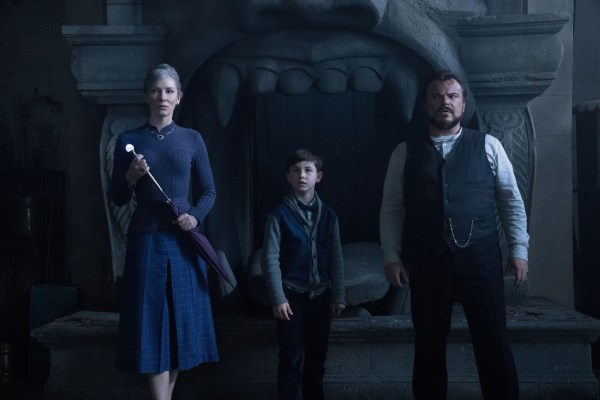 Cate Blanchett, Owen Vaccaro, and Jack Black - The House With A Clock In Its Walls