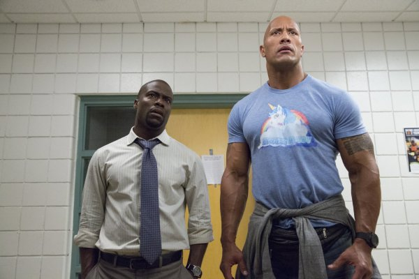 Central Intelligence 2016 - Kevin Hart and Dwayne Johnson