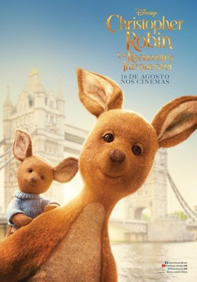 Christopher Robin Character Poster - Kanga and Roo