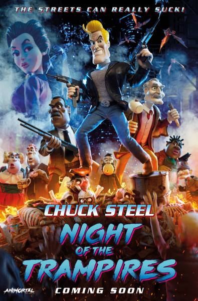 Chuck Steel Night Of The Trampires Movie Poster