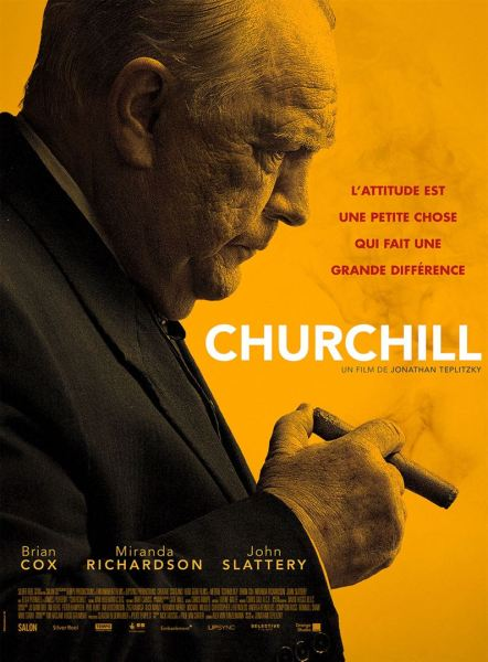 Churchill French Poster