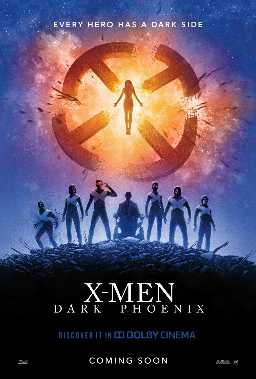 Trailer And Poster Of X Men Dark Phoenix 2019 Teaser Trailer