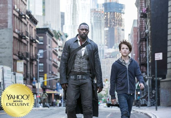 Dark Tower Movie - New Picture - Idris Elba and Tom Taylor