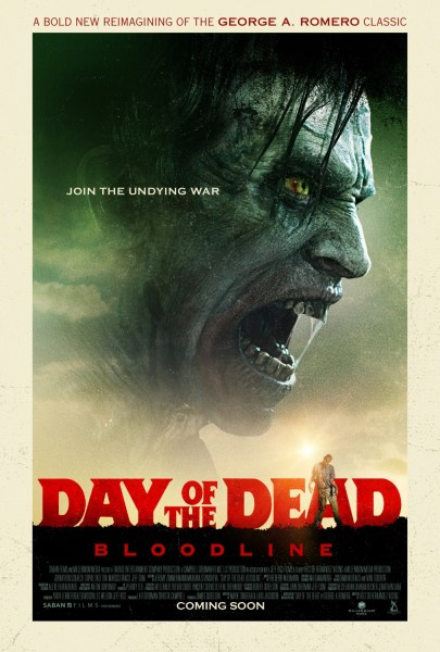 Day Of The Dead Bloodline Movie Poster