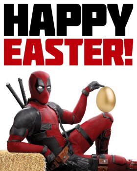 Deadpool 2 Easter Poster