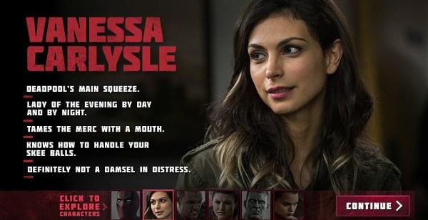 Deadpool Movie - Morena Baccarin as Vanessa Carlysle