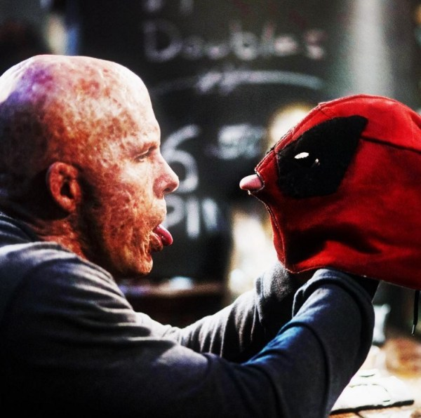 Deadpool maskless