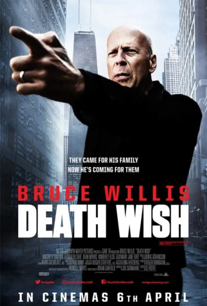Death Wish New UK Poster