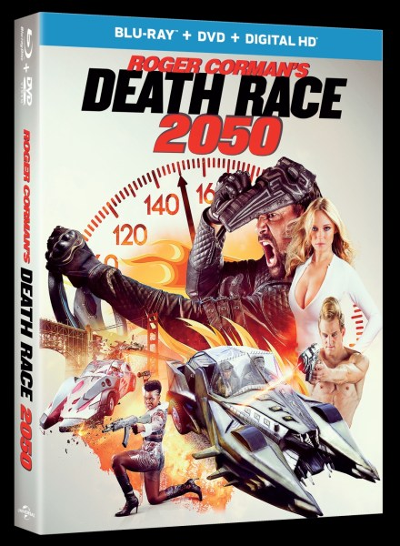 Death Race 2050 Movie Blu Ray Cover