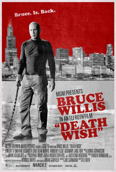 Death Wish New Poster - Bruce with a leash
