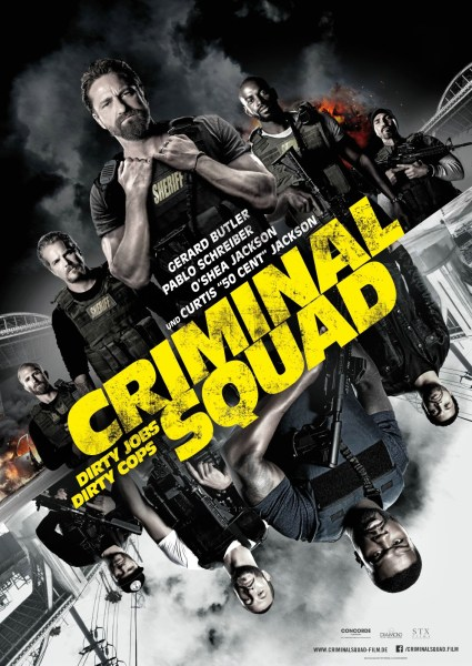 Den Of Thieves German Poster - Criminal squad