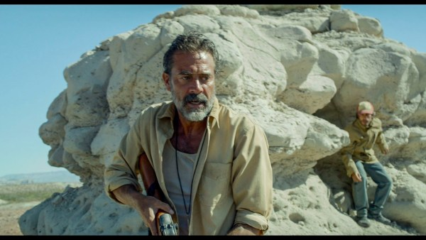 (L to R) JEFFREY DEAN MORGAN and GAEL GARCIA BERNAL in the movie DESIERTO.