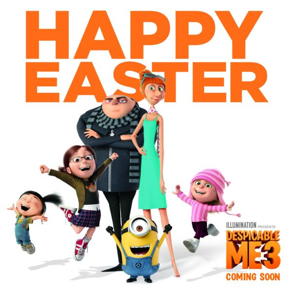 Despicable Me 3 - Easter poster
