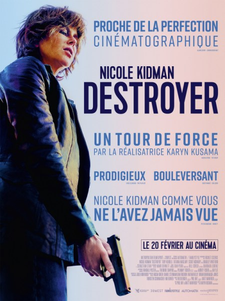 Destroyer French Poster