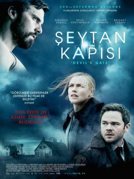 Devils Gate Turkey Poster