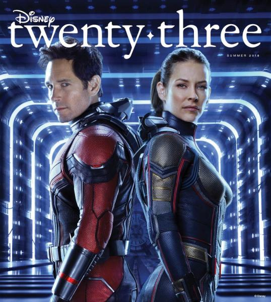 Disney 23 Magazine Ant Man Wasp Cover