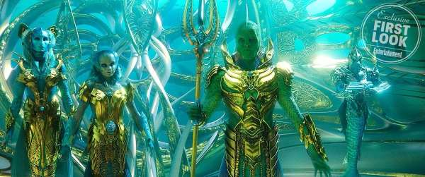 Djimon Hounsou as Fisherman King - Aquaman Movie