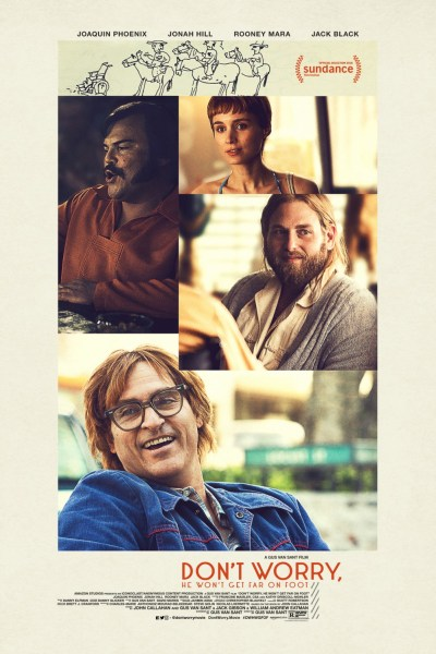 Don't Worry He Won't Get Far On Foot Movie Poster