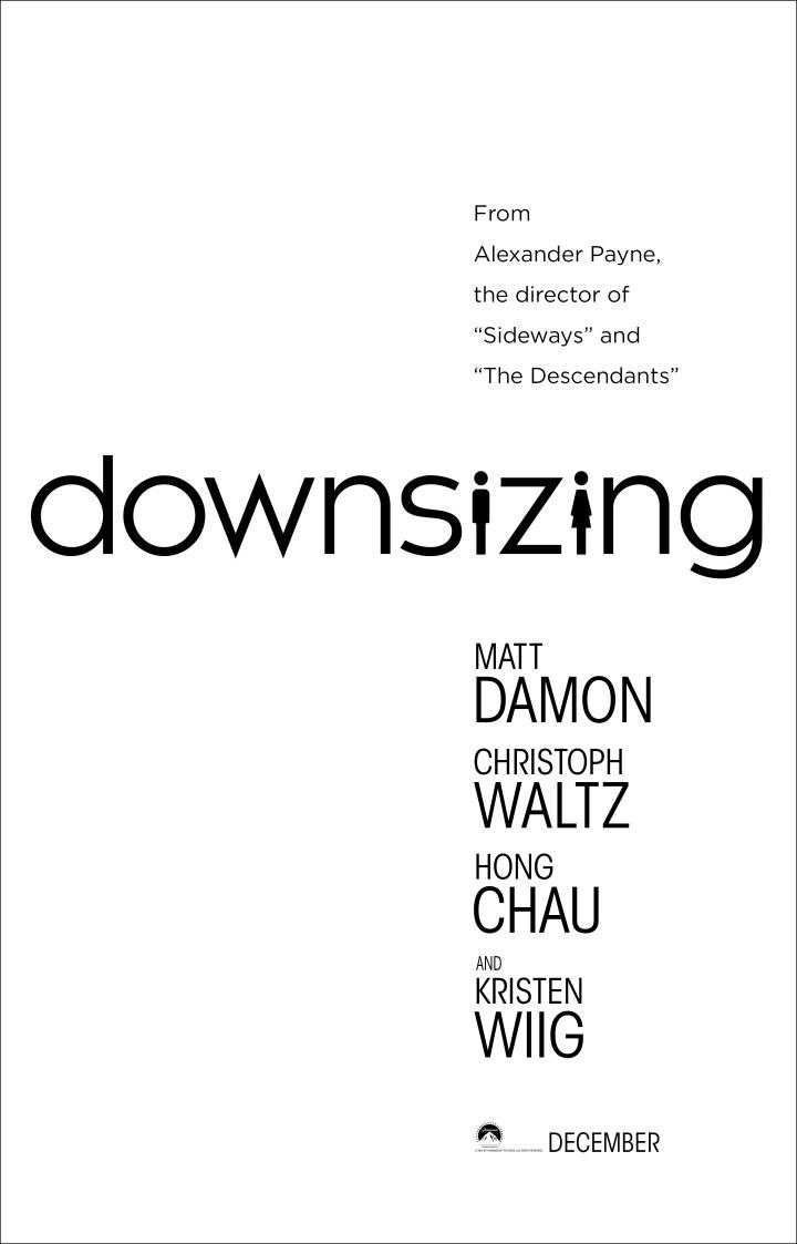 Downsizing Movie Poster Teaser Trailer