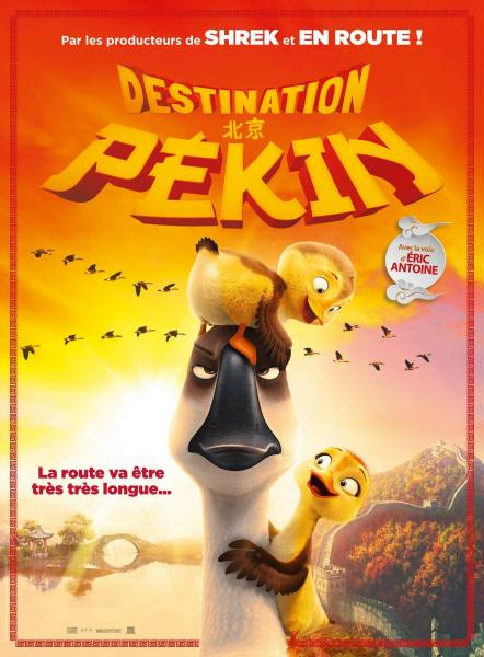 Duck Duck Goose New French Poster