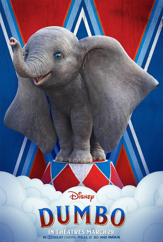 trailer and poster of dumbo  2019    teaser trailer