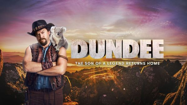 Dundee The Son Of A Legend Returns Home Movie Banner Poster