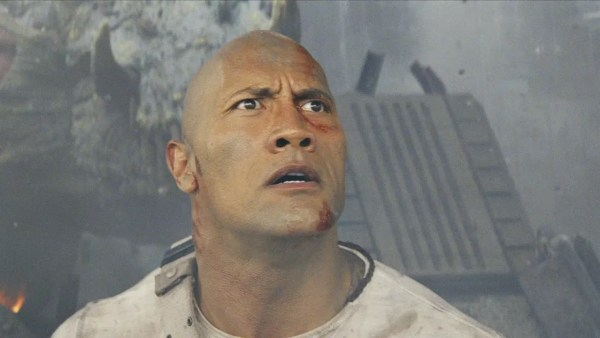 Dwayne Johnson - Rampage film