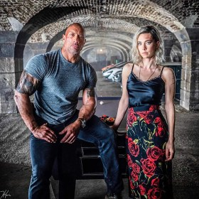 Dwayne Johnson And Vanessa Kirby In Hobbs And Shaw (2019)