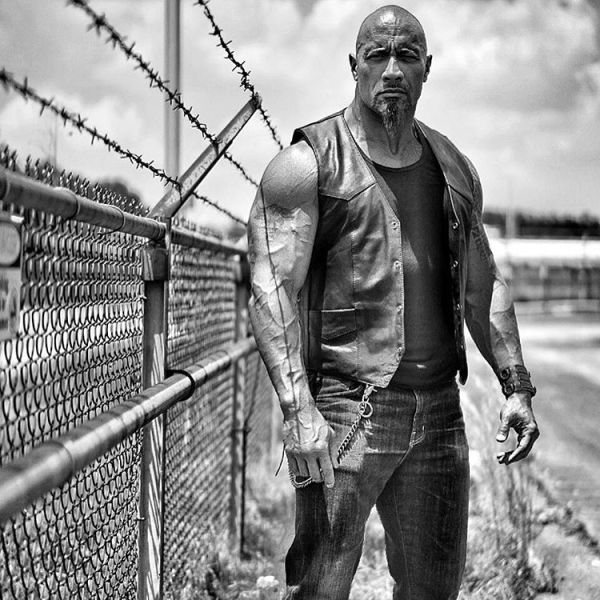 Dwayne Johnson as Hobbs in Fast and Furious 8