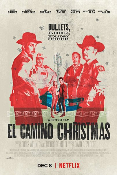El Camino Christmas Movie Poster