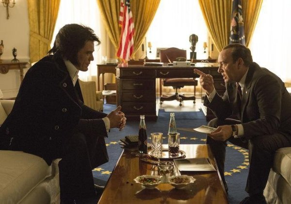 Elvis and Nixon Movie