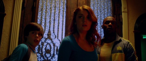 Elyse Dufour, Jermaine Rivers, And Jack Champion In The Night Sitter
