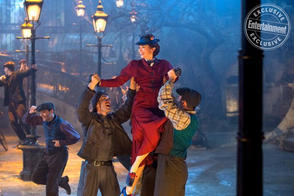 Mary Poppins Returns - Emily Blunt is Mary Poppins in Dinsey's original musica MARY. POPPINS RETURNS, a sequel to the 1964 MARY POPPINS which takes audiences on an entirely new adventure with the practically perfect nanny and the Banks family.