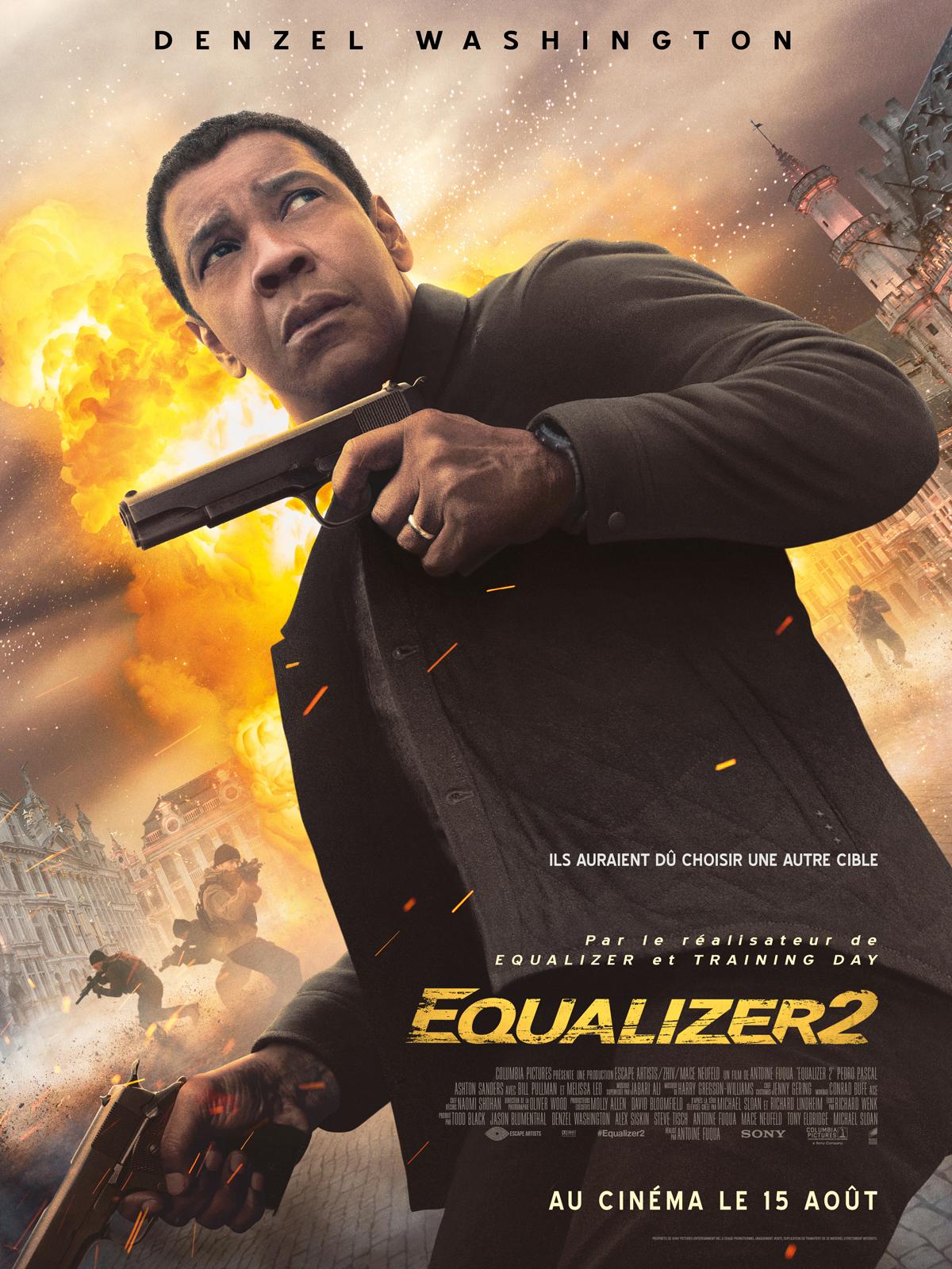 Hasil gambar untuk THE EQUALIZER 2 poster