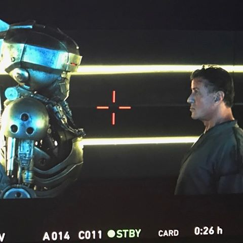 Escape Plan 2 Robot