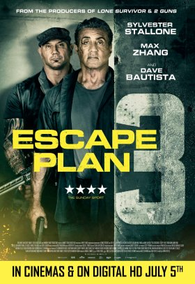 Escape Plan 3 The Extractors Movie Poster