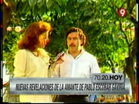Virginia Vallejo and Pablo Escobar