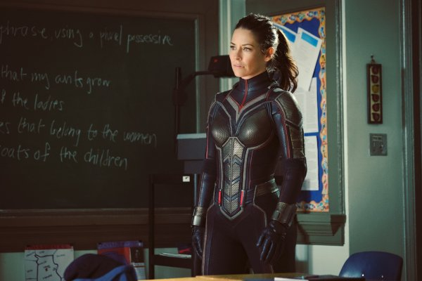 Evangeline Lilly as The Wasp - Ant-Man 2 Movie