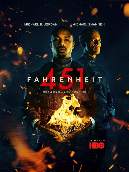 Fahrenheit 451 New Film Poster