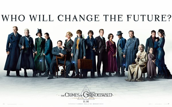 Fantastic Beasts The Crimes Of Grindelwald Banner Poster