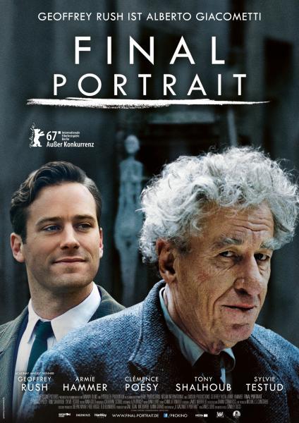 Final Portrait Movie German Poster