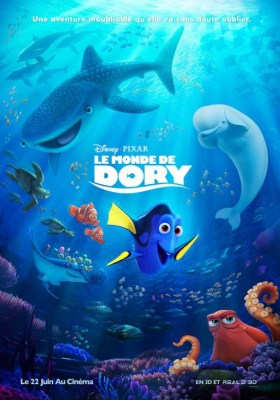 Finding Dory French Poster