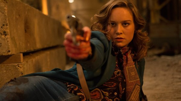 Free Fire movie - Brie Larson