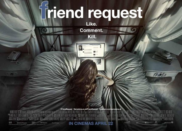 Friend Request Movie -Banner Poster