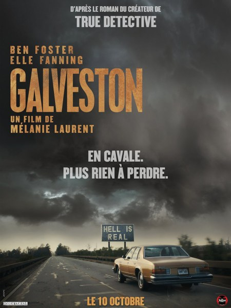 Galveston Film Poster from France