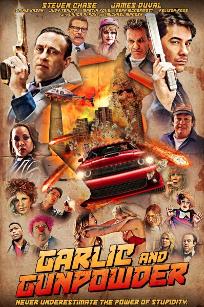 Garlic And Gunpowder Movie Poster