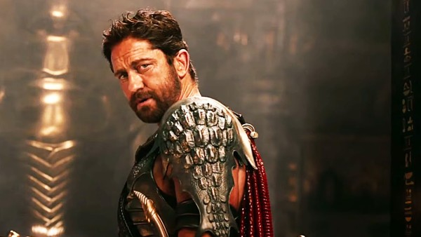 Gerard Butler - Gods of Egypt Super Bowl