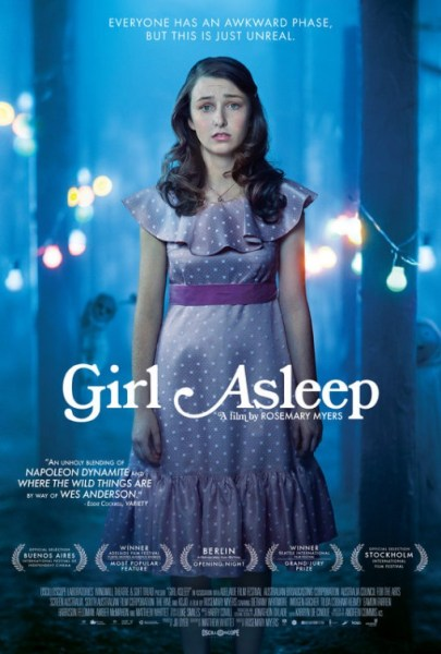 Girl Asleep US movie poster