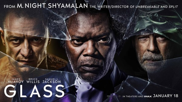 Glass In Theaters January 18 2019
