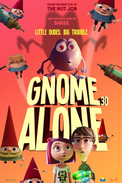 Gnome Alone Movie Poster